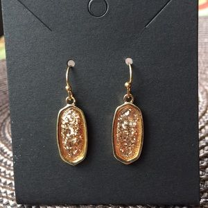 3/$12  Gold Drop Earrings